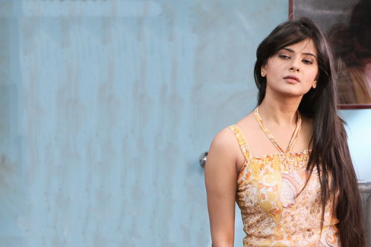Kratika Sengar bollywood actress model girl beautiful brunette pretty cute beauty sexy hot pose face eyes hair lips smile figure indian wallpaper