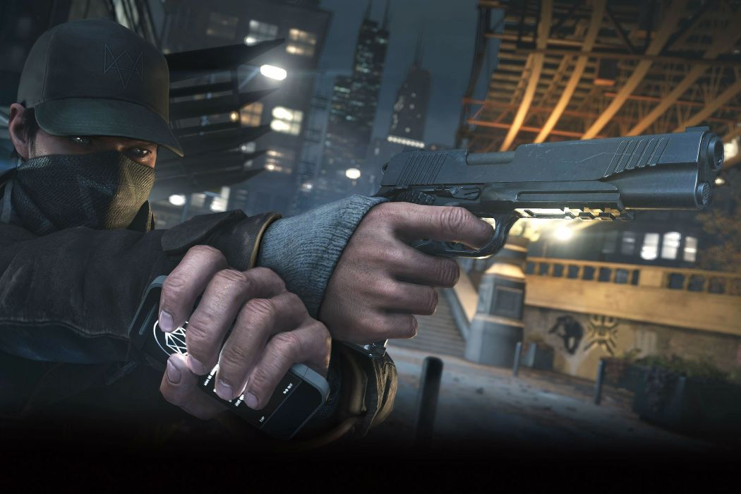 WATCH DOGS futuristic cyberpunk warrior action fighting 1wdogs adventure shooter watchdogs wallpaper