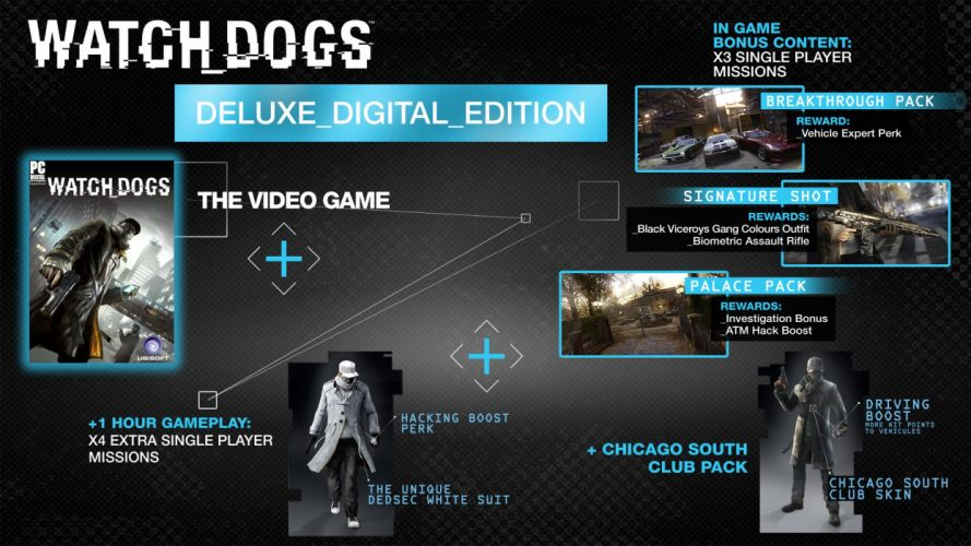WATCH DOGS futuristic cyberpunk warrior action fighting 1wdogs adventure shooter sci-fi watchdogs poster wallpaper