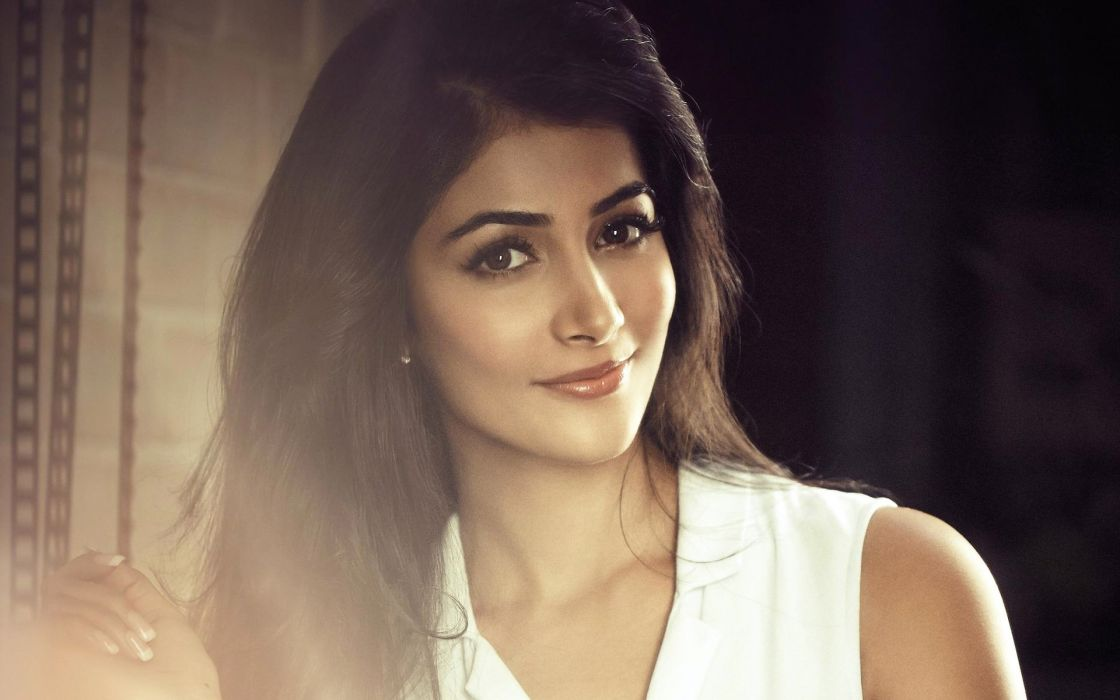 pooja hegde bollywood actress model girl beautiful brunette pretty cute beauty sexy hot pose face eyes hair lips smile figure indian  wallpaper