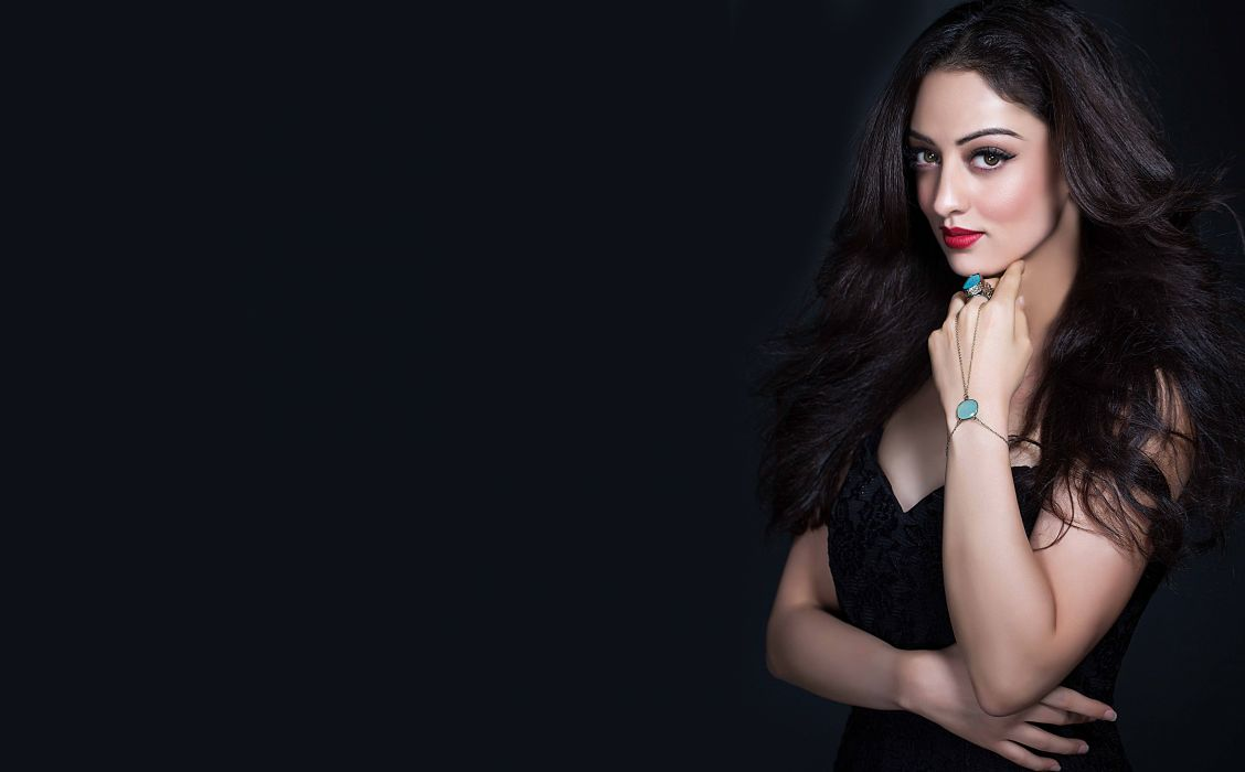 sandeepa dhar bollywood actress model girl beautiful brunette pretty cute beauty sexy hot pose face eyes hair lips smile figure indian  wallpaper
