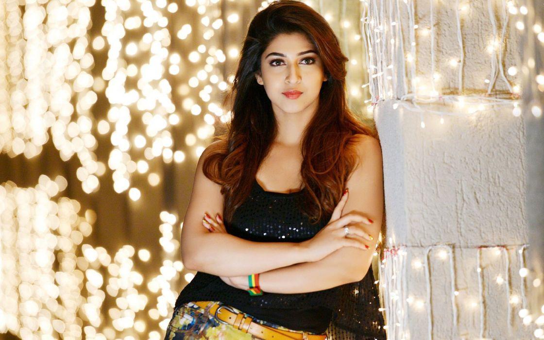 sonarika bhadoria bollywood actress model girl beautiful brunette pretty cute beauty sexy hot pose face eyes hair lips smile figure indian  wallpaper