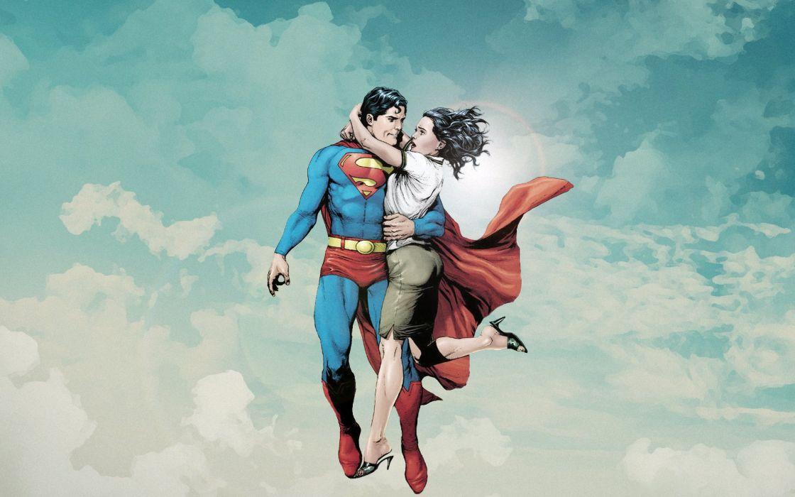 superman novia comic wallpaper