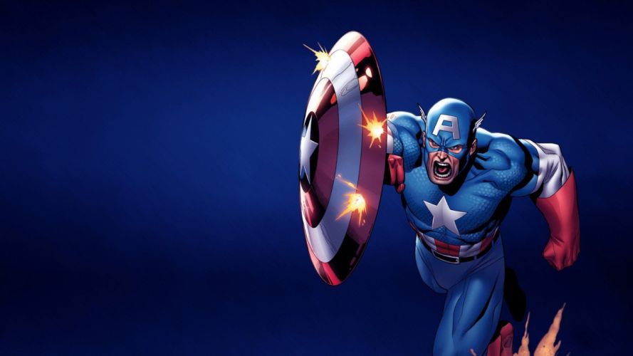 capitan america marvel comic wallpaper