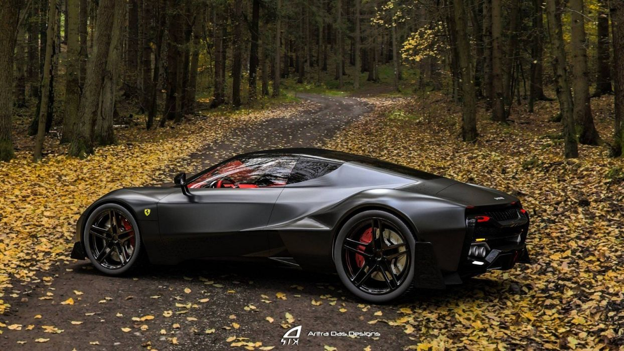 Ferrari Zenyatta cars concept wallpaper