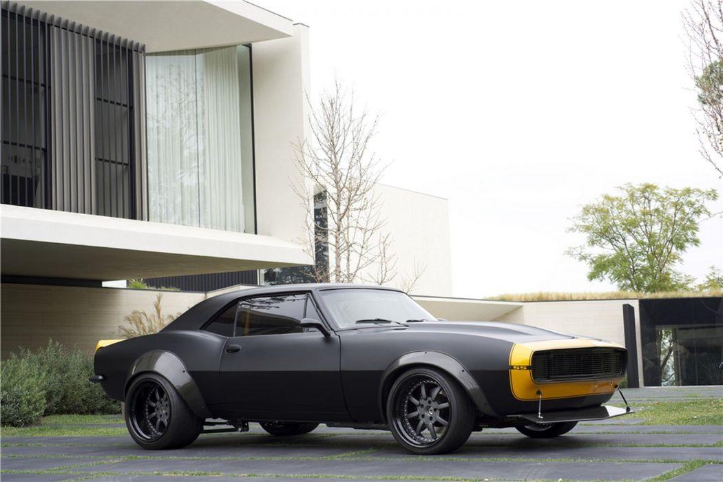 1967 Camaro SS Transformers cars movies black wallpaper