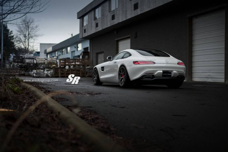 Mercedes AMG GTs cars white coupe wallpaper