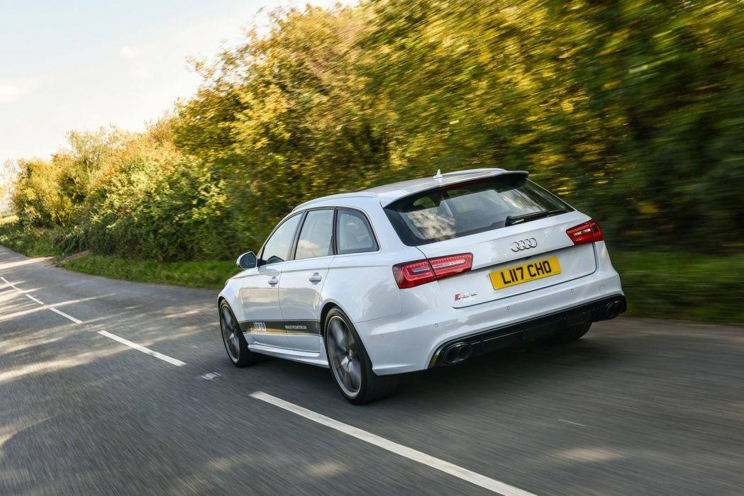 Litchfield Audi RS6 Avant cars modified wagon white wallpaper
