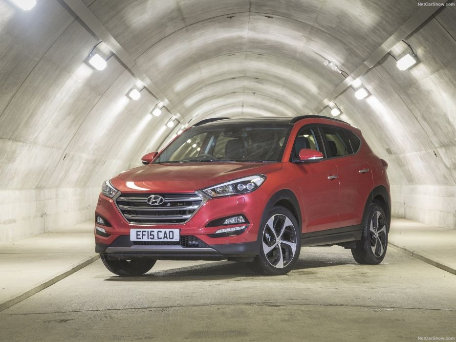 2015 2016 cars hyundai suv tucson EU-spec wallpaper