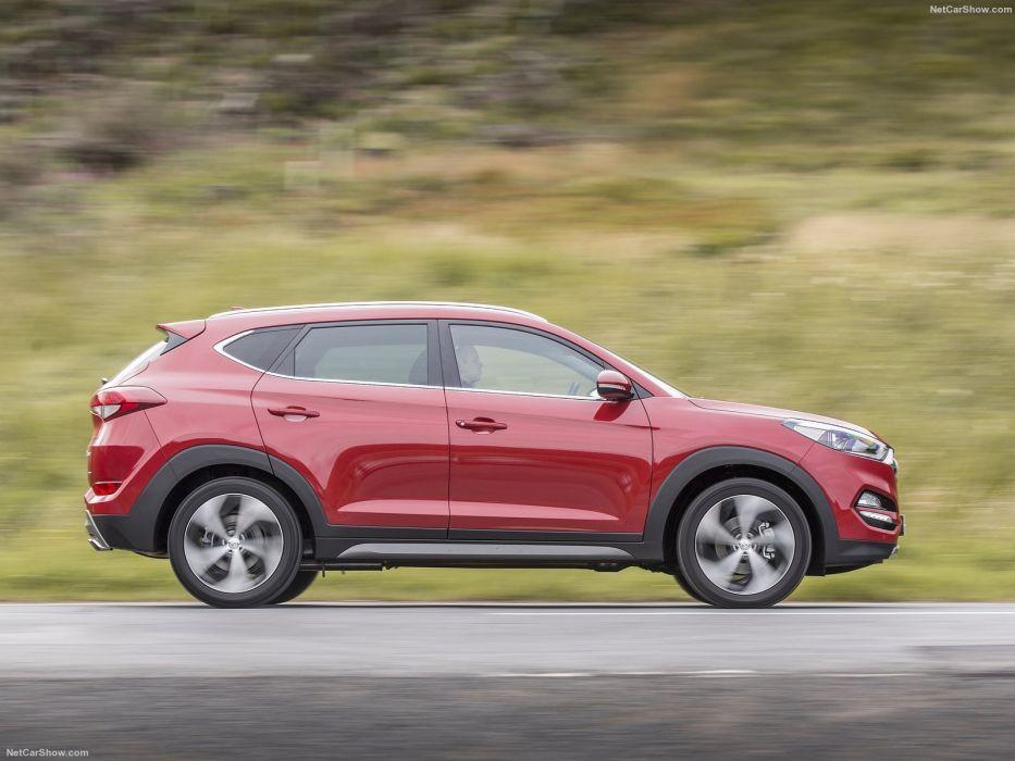 2015 2016 cars hyundai suv tucson EU-spec wallpaper