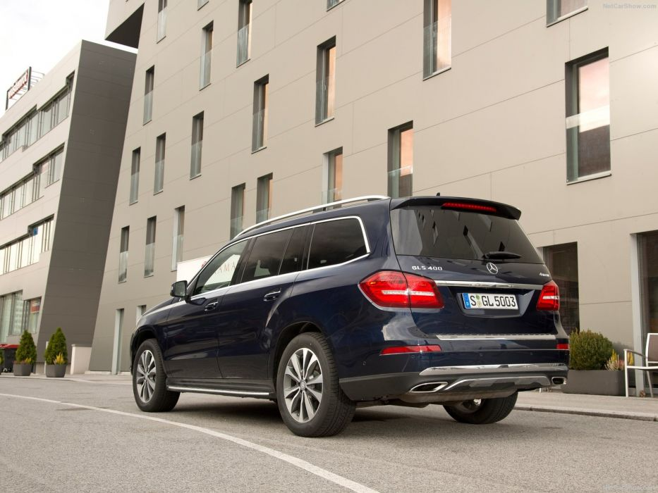 Mercedes GLS cars suv 2016 wallpaper