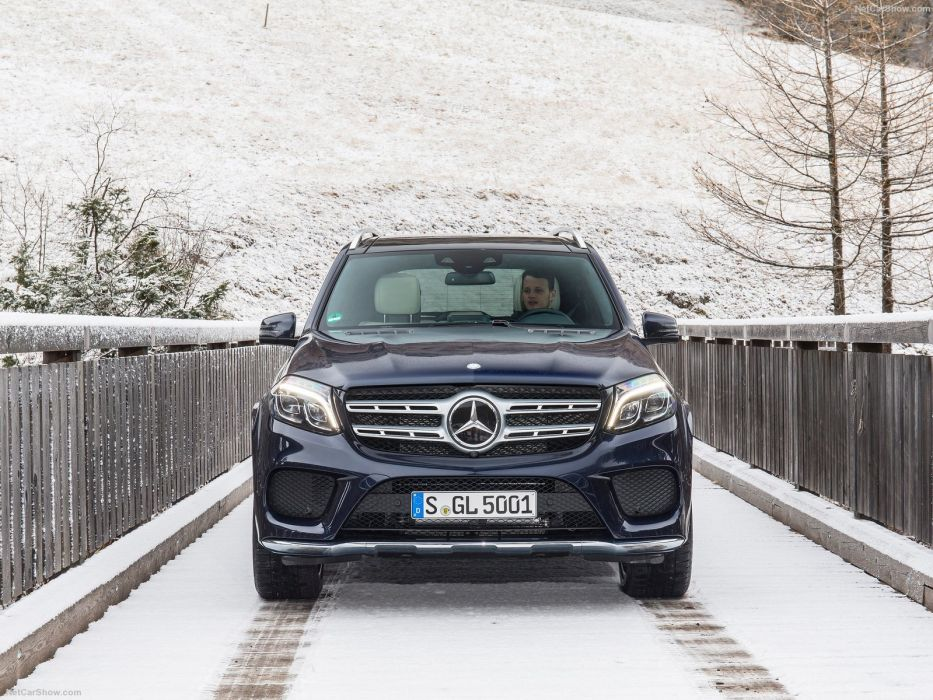 Mercedes GLS cars suv 2016 wallpaper