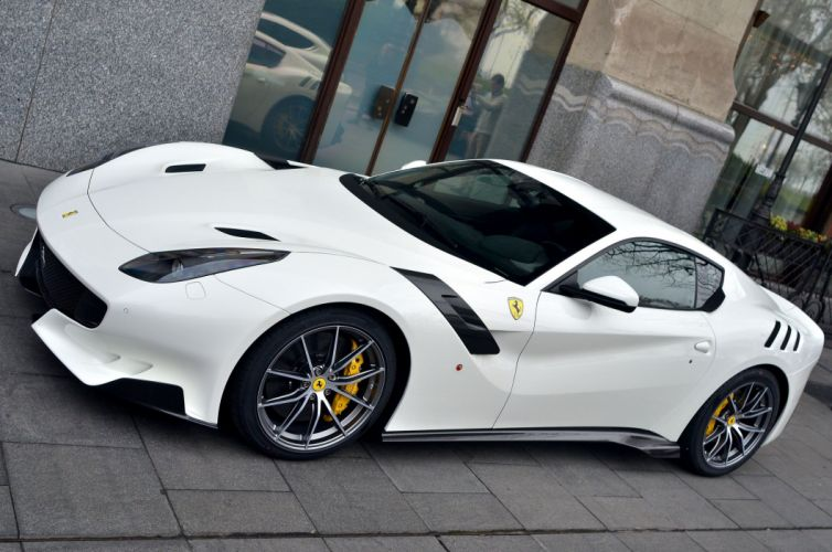 2016 Coupe f12 F12tdf Ferrari Supercar white wallpaper