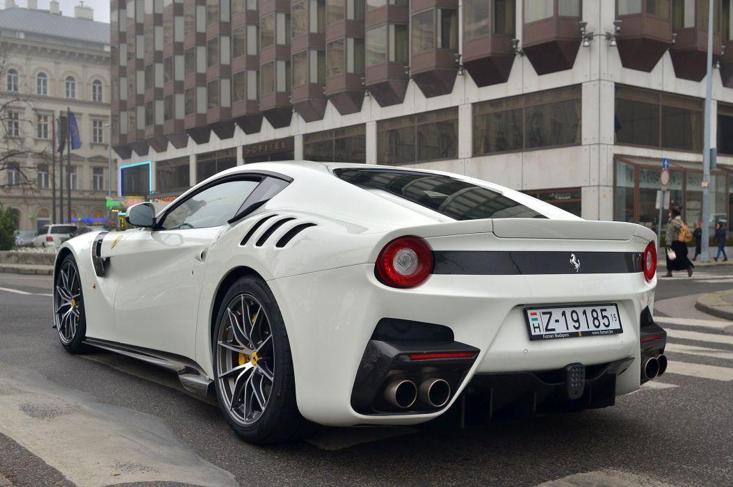 2016 Coupe f12 F12tdf Ferrari Supercar white wallpaper
