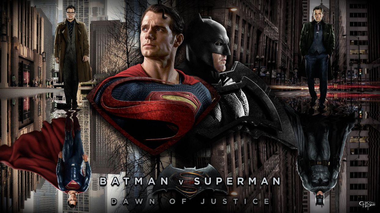 BATMAN-v-SUPERMAN dc-comics superhero d-c superman batman action adventure comics dawn justice wallpaper