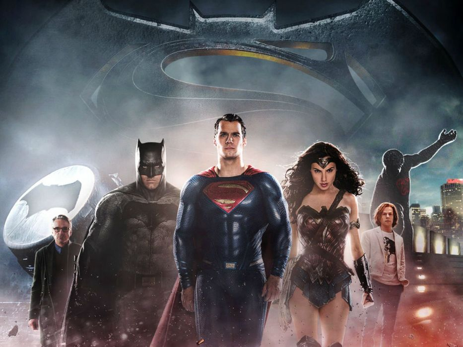 BATMAN-v-SUPERMAN dc-comics superhero d-c superman batman action adventure comics dawn justice wonder woman wallpaper