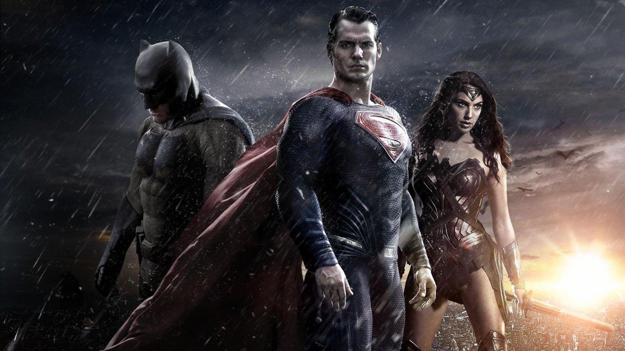 BATMAN-v-SUPERMAN dc-comics superhero d-c superman batman action adventure comics dawn justice wonder woman wallpaper