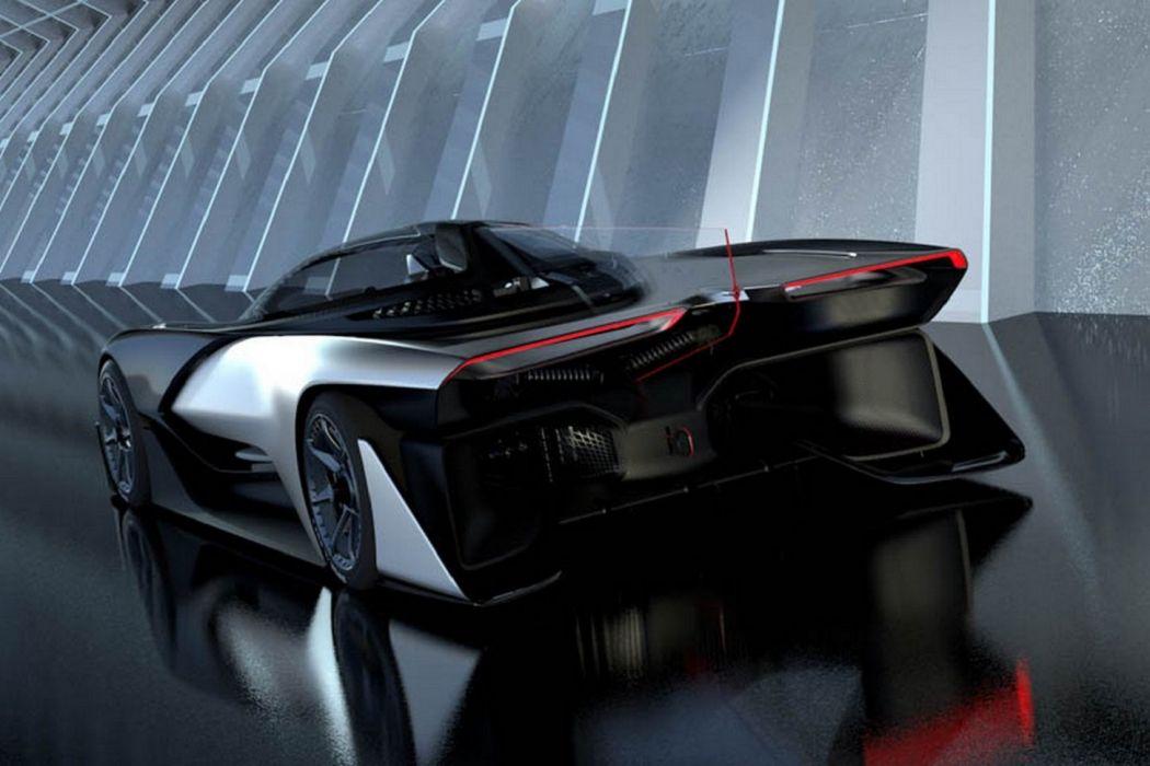 Faraday Future FFZERO1 concept cars wallpaper