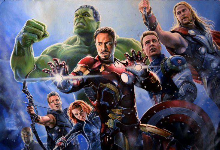 AVENGERS AGE ULTRON marvel comics superhero ageultron action adventure fighting warrior wallpaper