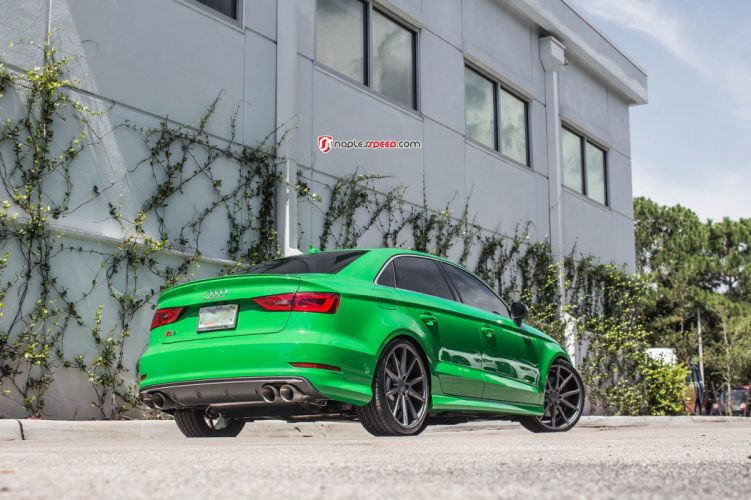 audi s3 sedan cars green wallpaper