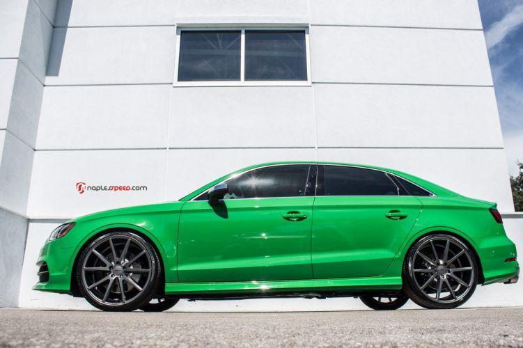audi s3 sedan cars green wallpaper