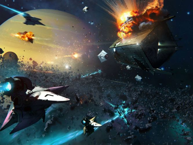DESTINY sci-fi shooter fps action fighting futuristic warrior fantasy mmo online rpg poster spaceship wallpaper