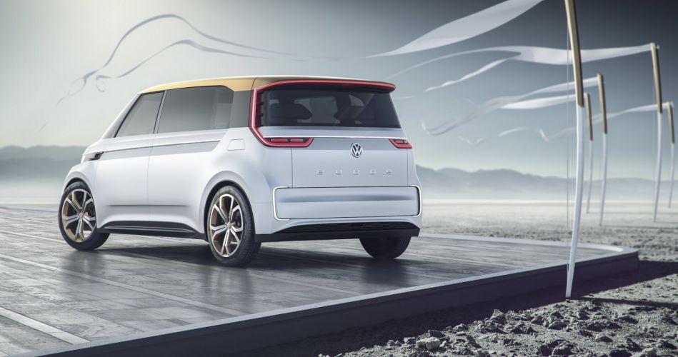 Volkswagen Budd-e concept cars van wallpaper