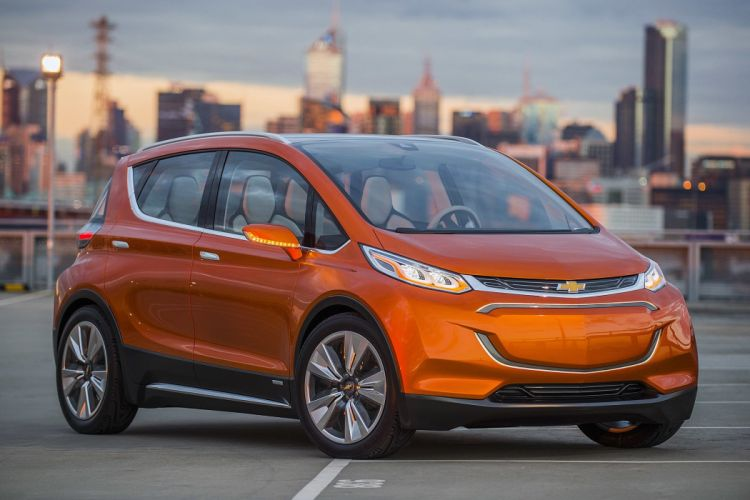 Chevy Bolt EV concept cars wallpaper