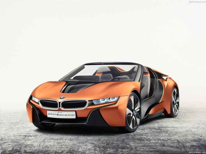 BMW i-Vision Future Interaction Concept cars wallpaper