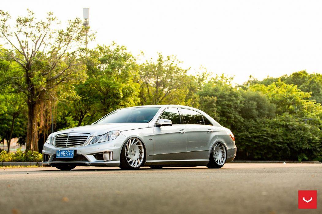 Vossen Wheels Mercedes Benz E-Class W212 cars silver wallpaper