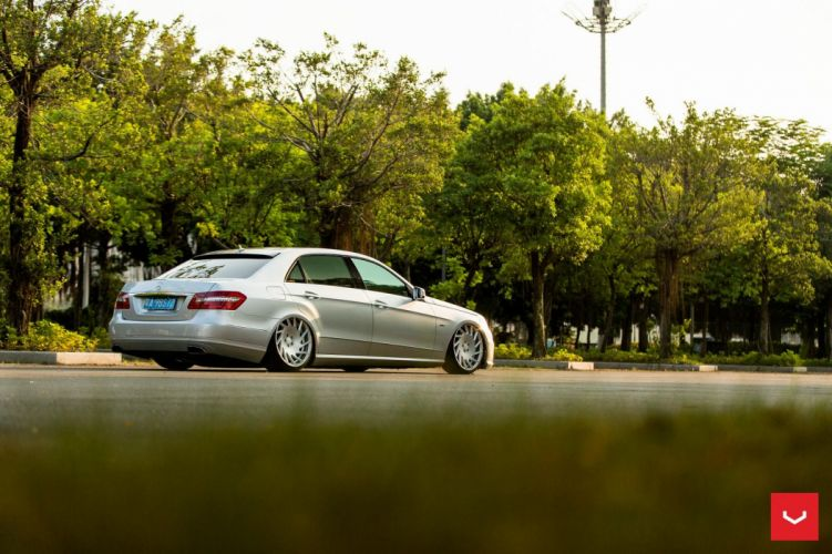 Vossen Wheels Mercedes Benz E-Class W212 cars silver wallpaper