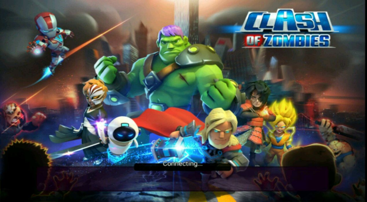 Clash of Zombies the Popular online game wallpaper