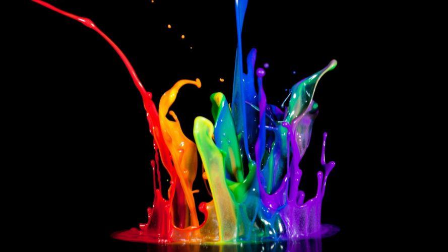 Paint art wallpaper