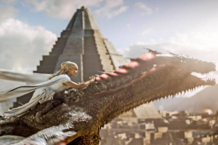 GAME OF THRONES adventure drama hbo fantasy series adventure dragon wallpaper