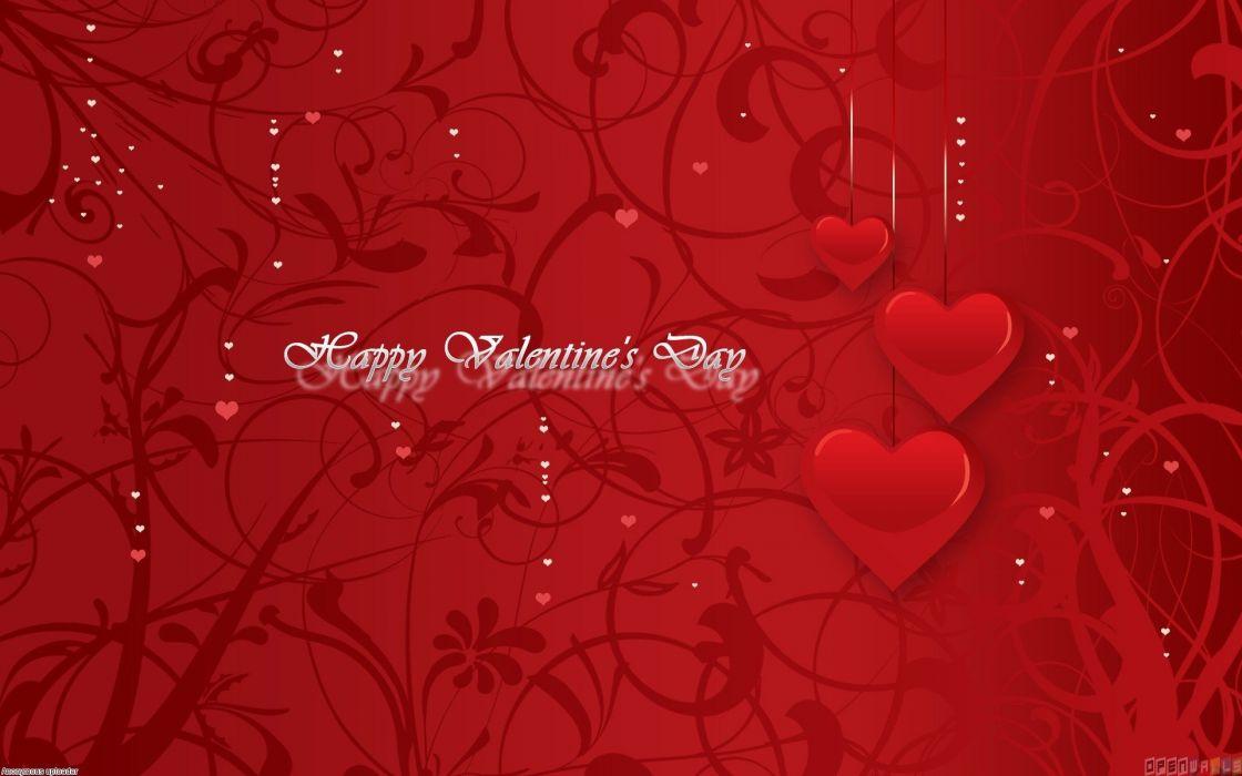 san valentin rojo corazon amor wallpaper