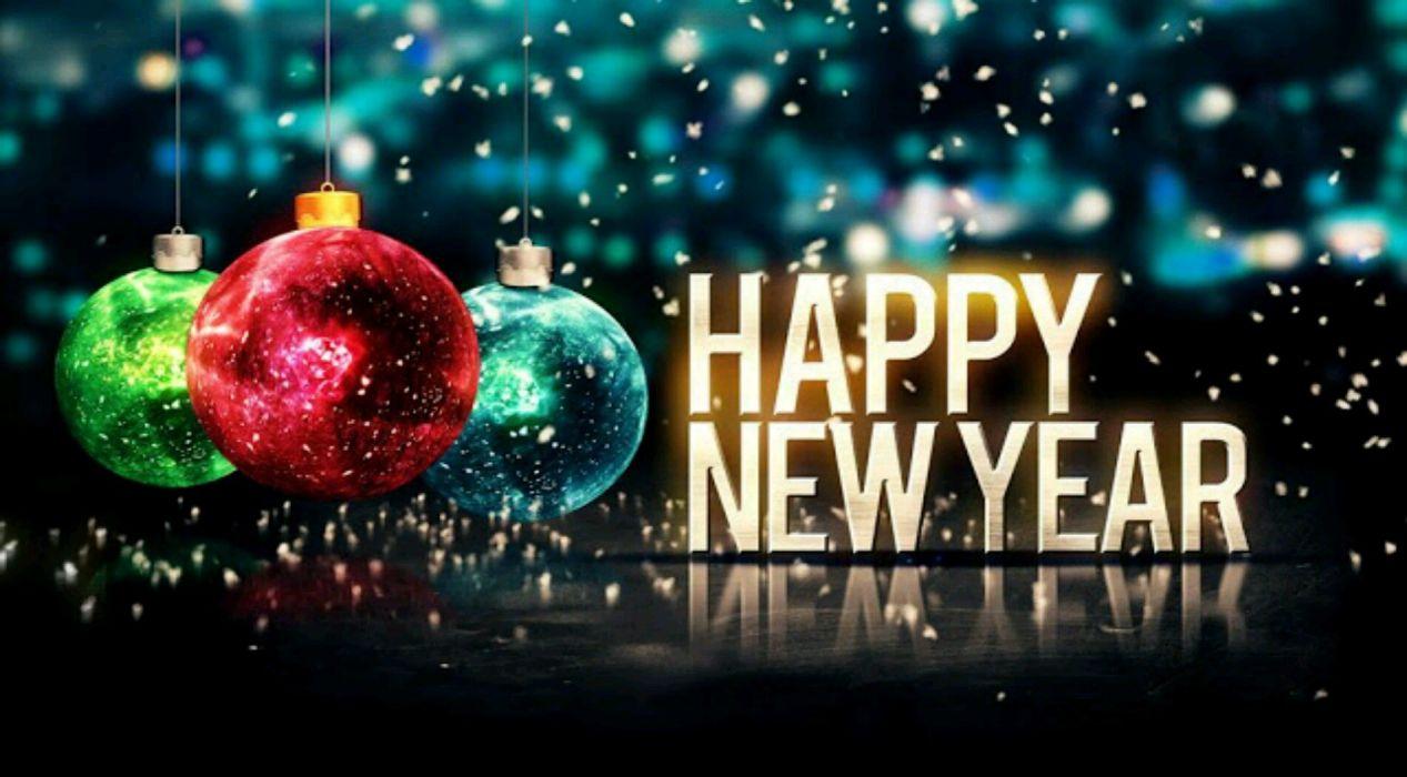 New Year photo wallpaper