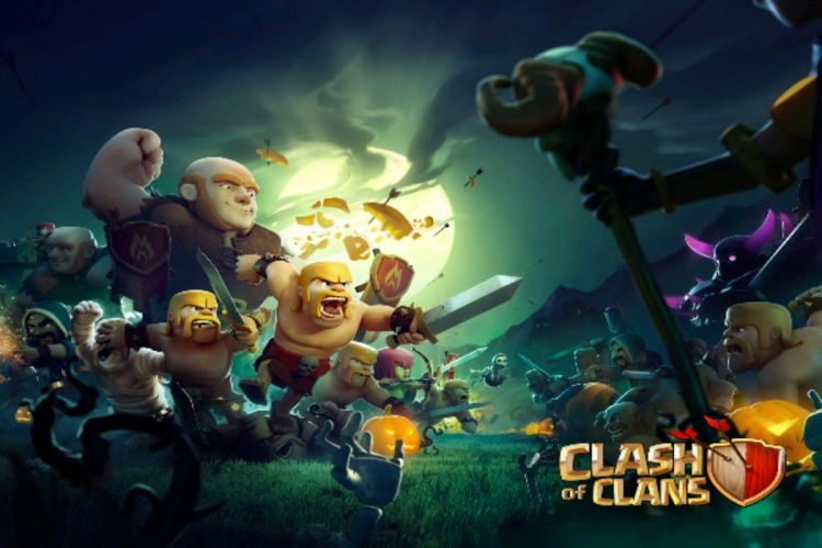 Clash of Clan The Most Online Popular Game wallpaper
