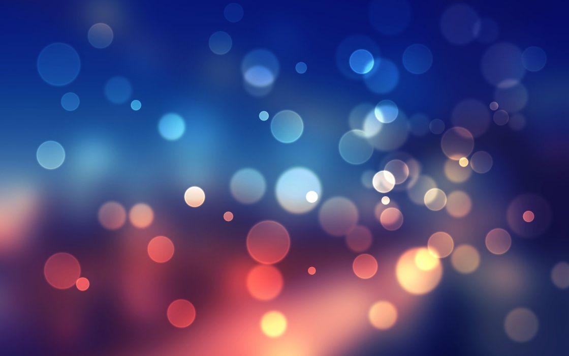 Lights Blur wallpaper