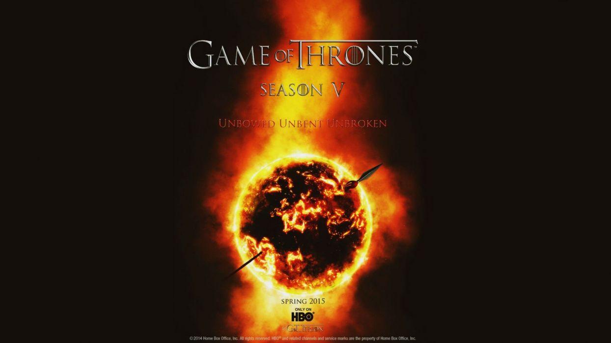 GAME OF THRONES adventure drama hbo fantasy series adventure poster wallpaper