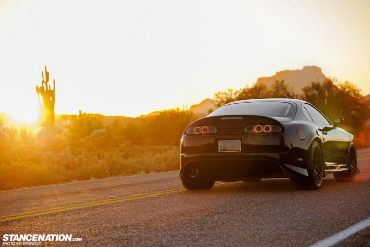toyota SUPRA cars coupe modified wallpaper