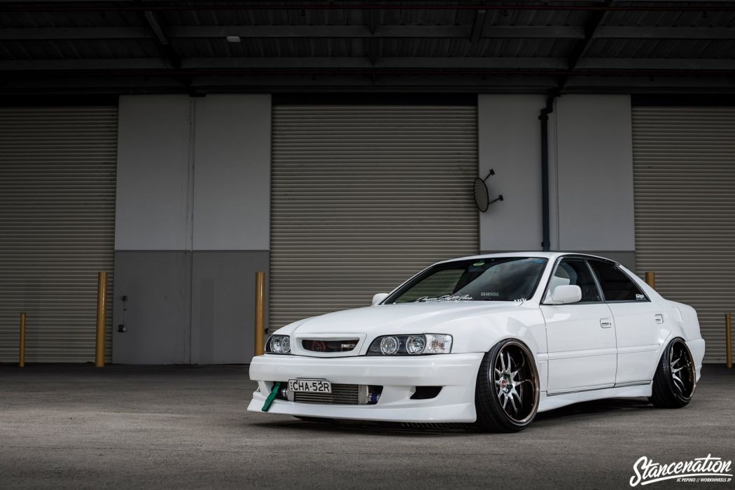 TOYOTA CHASER cars coupe modified wallpaper