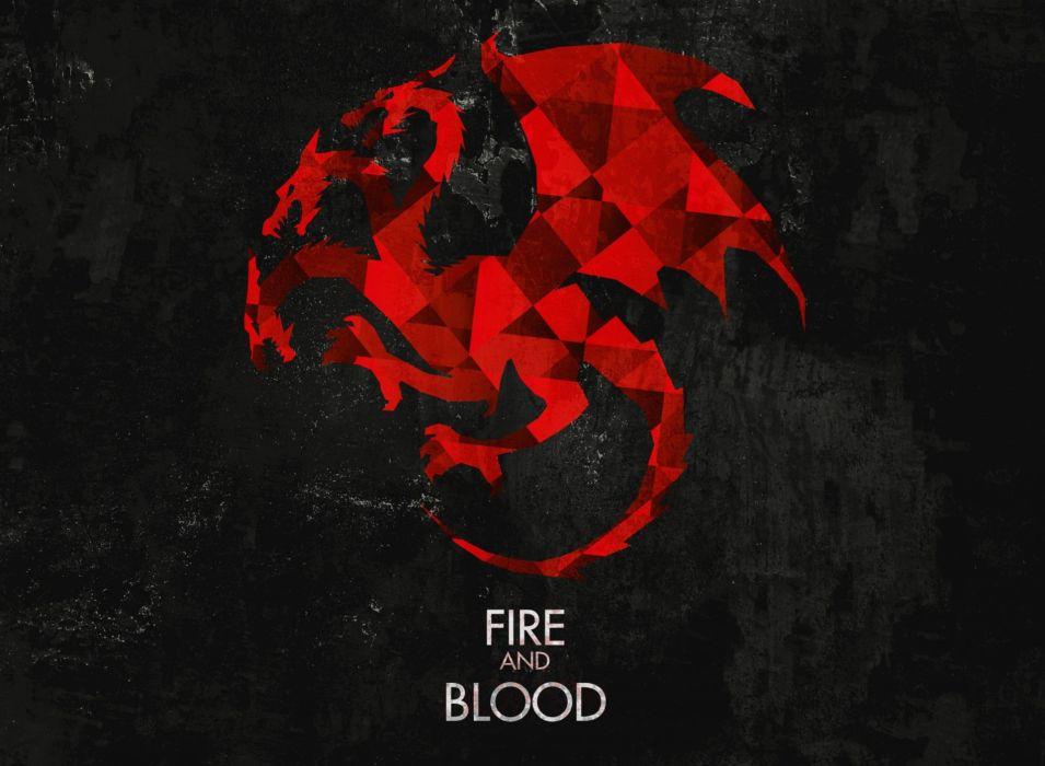 GAME OF THRONES adventure drama hbo fantasy series adventure poster dragon wallpaper