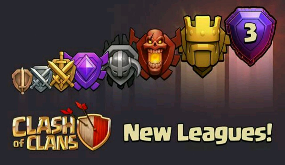 Clash of Clan New Leagues wallpaper