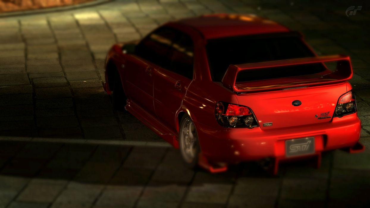GT5 Subaru Impreza STI wallpaper