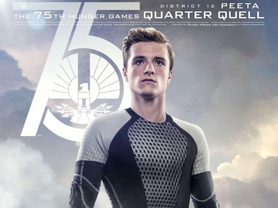 HUNGER GAMES fantasy adventure sci-fi drama action warrior archer poster wallpaper