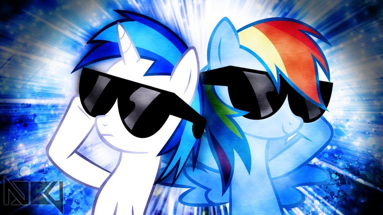 Dash & Scratch My Little Pony wallpaper