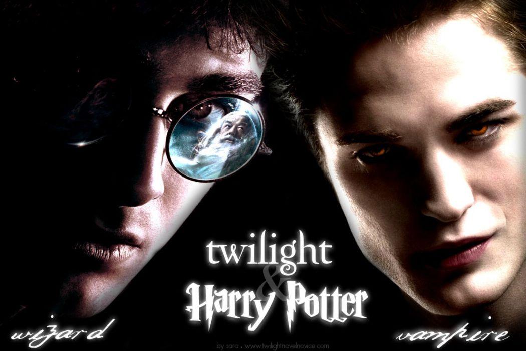 TWILIGHT drama romance vampire werewolf fantasy series poster hsrry potter wallpaper