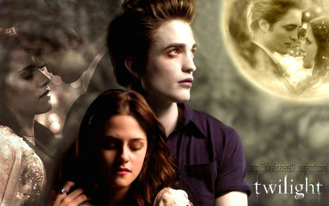 TWILIGHT drama romance vampire werewolf fantasy series wallpaper