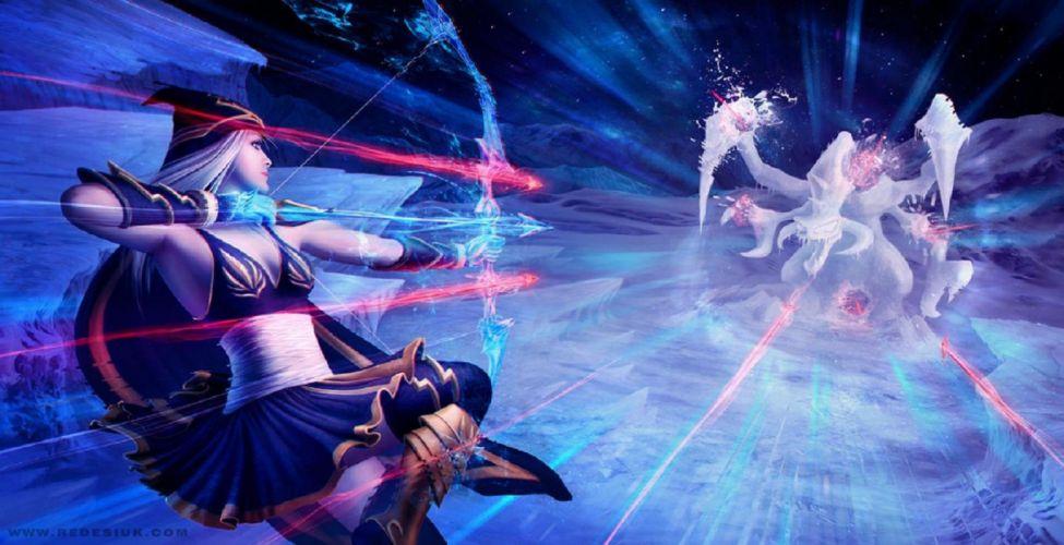 Snow hurricane by Tanathe - League Of Legends wallpaper
