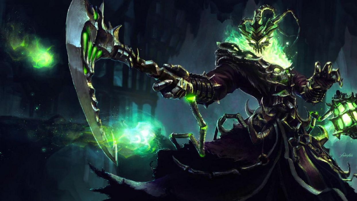 Thresh Fan Art By Yoshiyaki League Of Legends Wallpaper